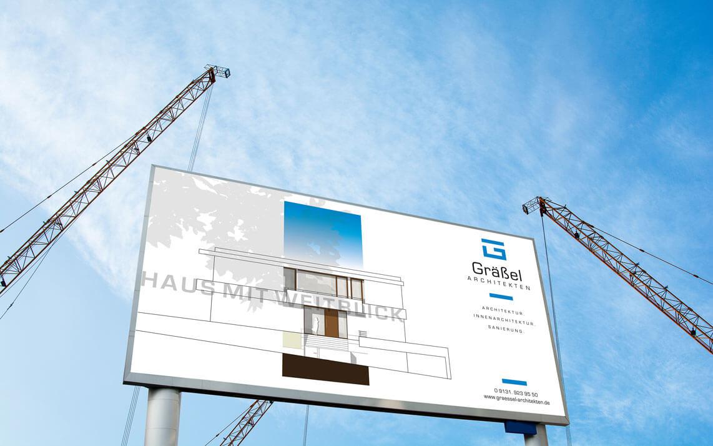 Graessel Architekten Bautafel