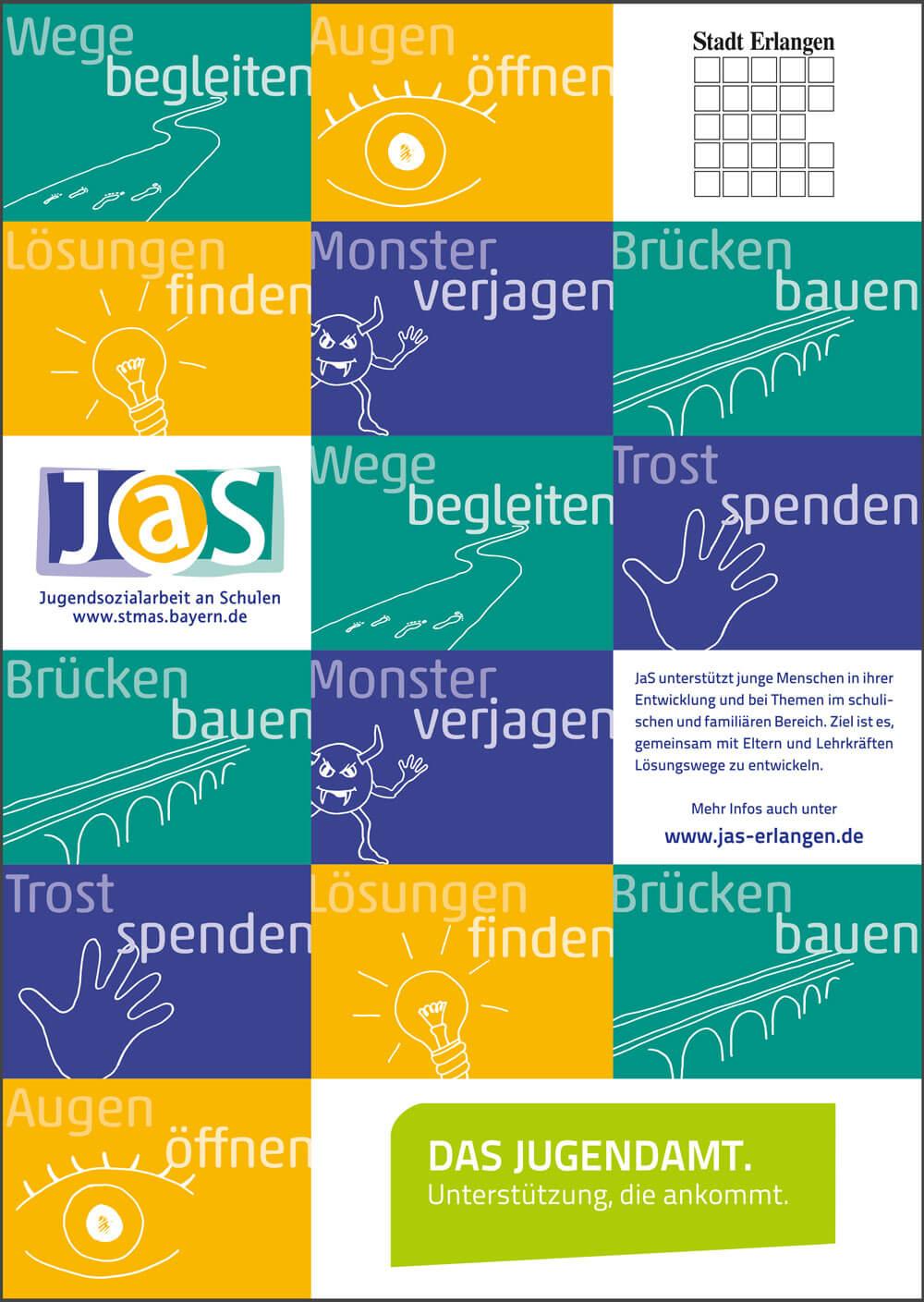JAS Plakat