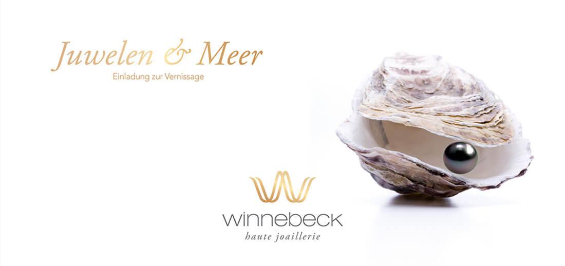 Juwelier Winnebeck Einladungskarte