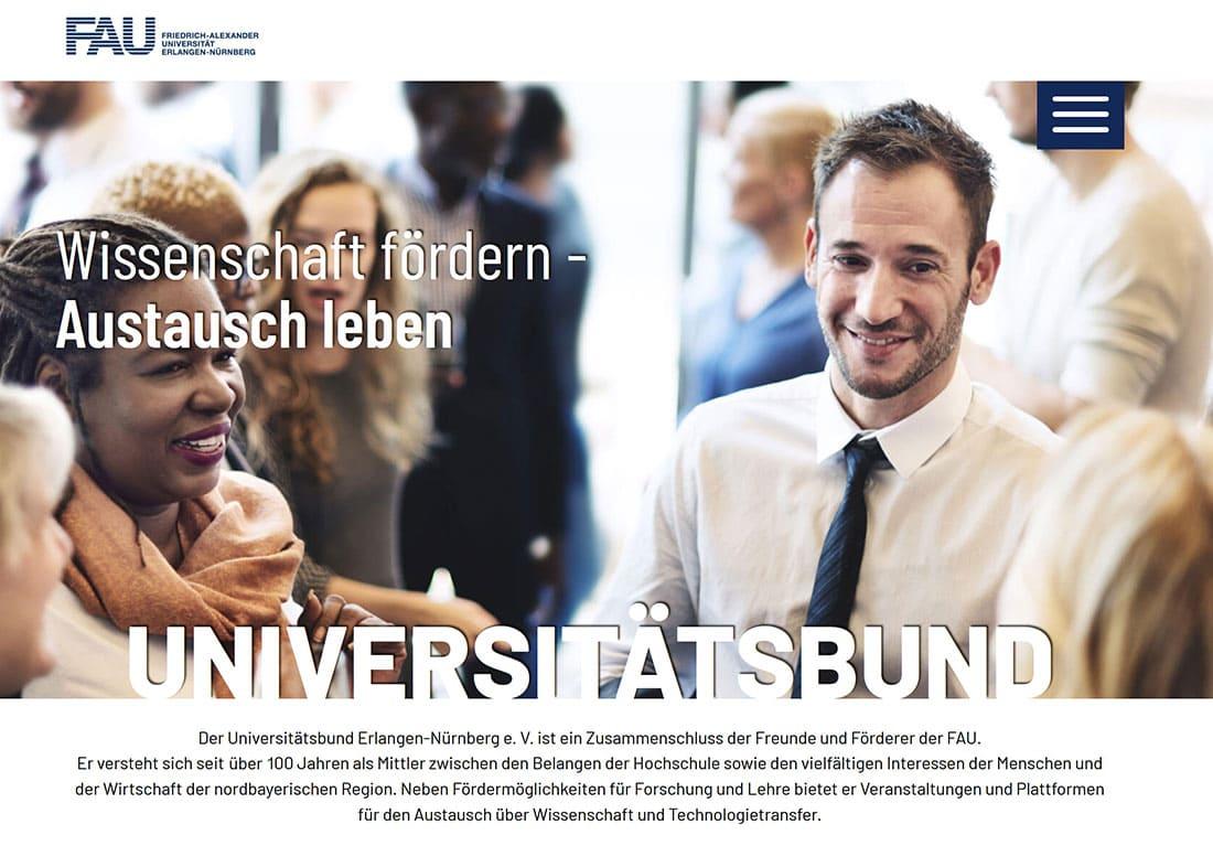 Universitaetsbund-Website-Relaunch