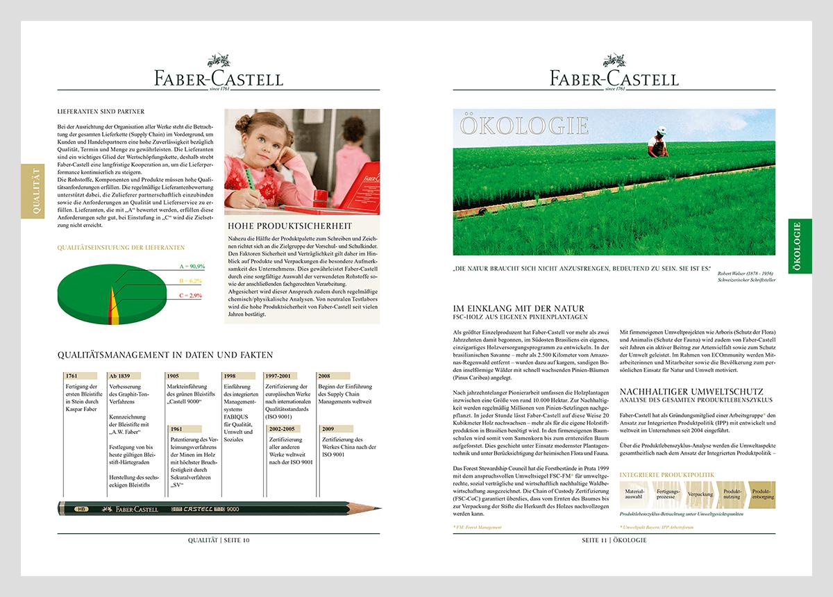 Faber Castell Nachhaltigkeitsbericht