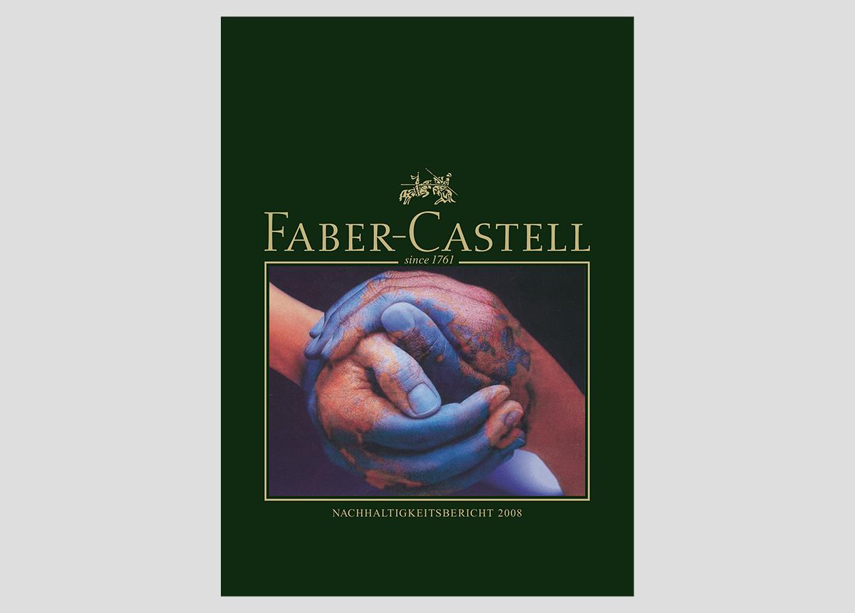 FaberCastell Nachhaltigkeitsbericht Titel