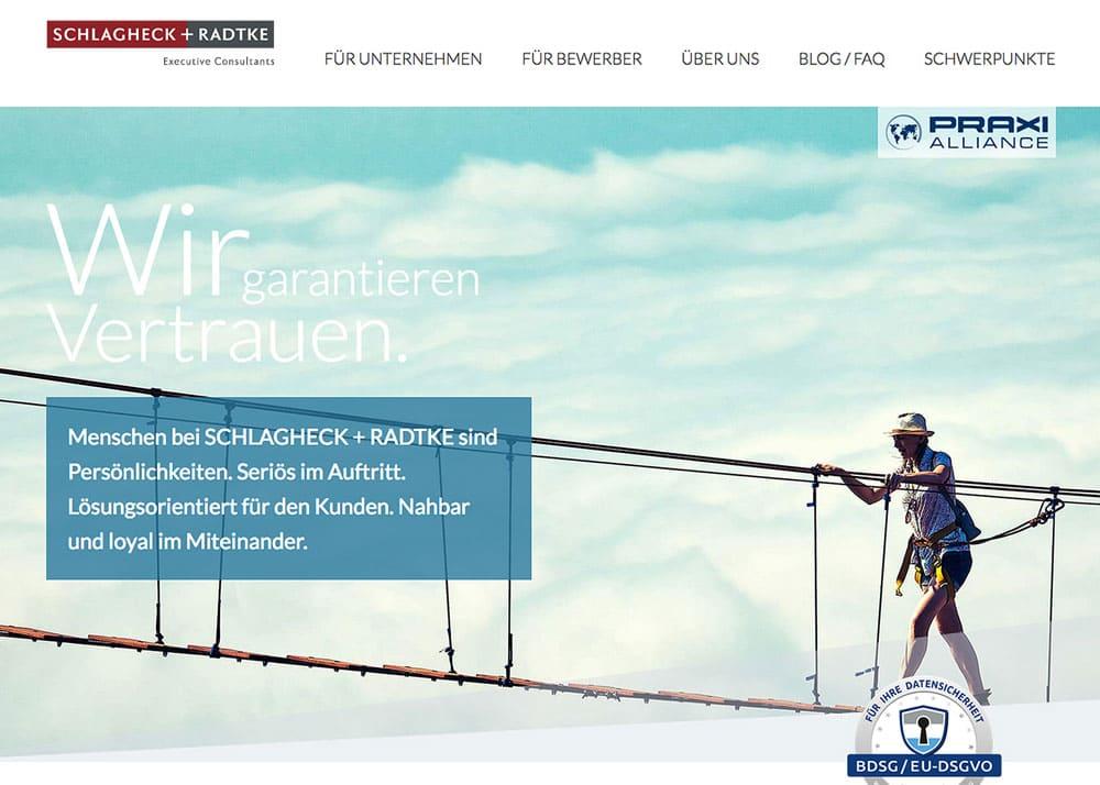 Schlagheck Radtke Web Projektbild 1