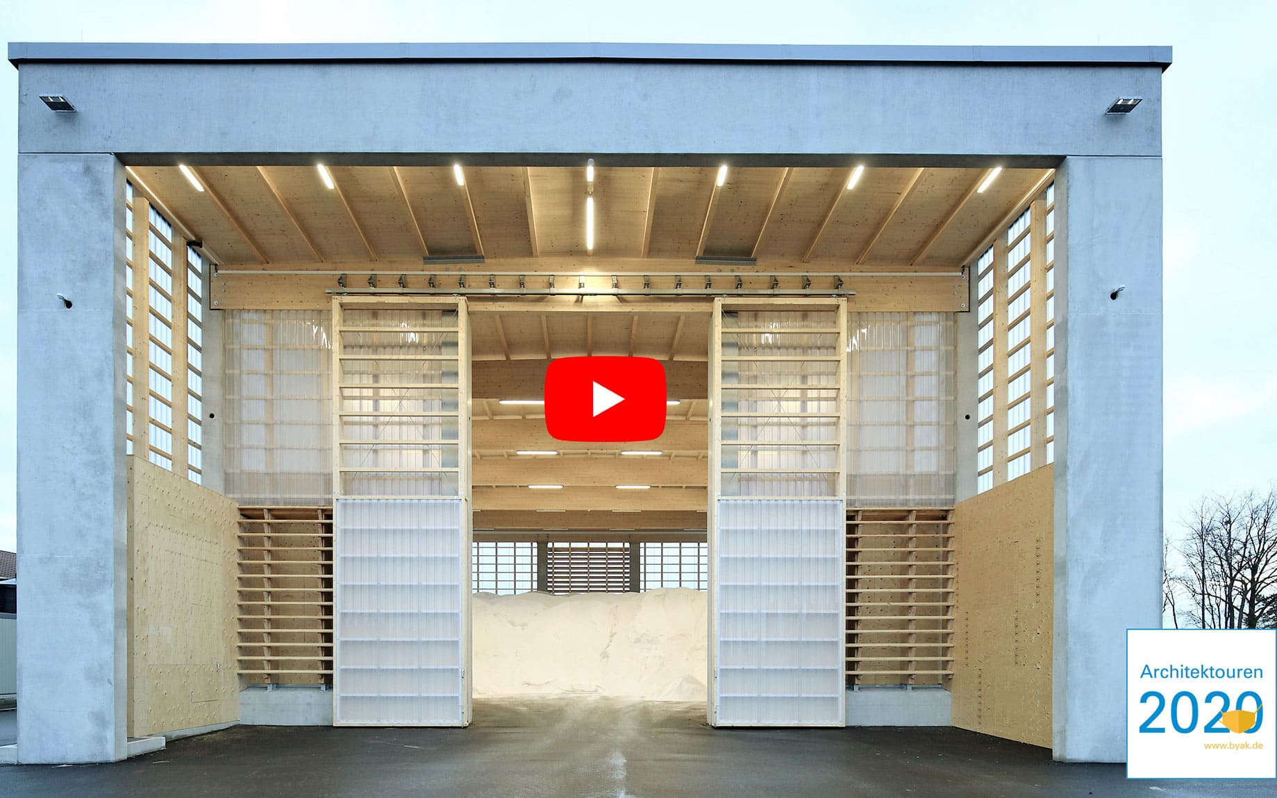 YouTube Video der Graessel-Streuguthalle